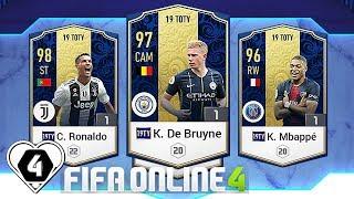 FIFA ONLINE 4: TEST 19TOTY VỚI K. DE BRUYNE 19TOTY VS CR7 19TOTY & K. MBAPPE 19TOTY - ShopTayCam.com
