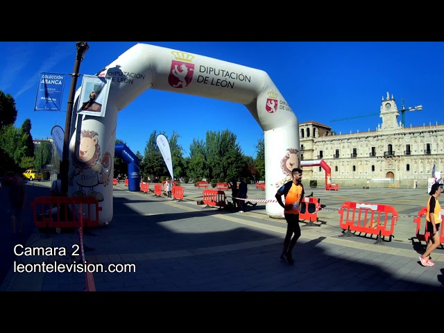 Llegada camara 2 5a Carrera Solidaria  Corre por la Vida