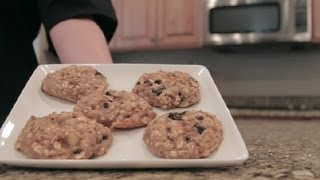 Healthy, High-fiber Breakfast Cookie Recipe : Healthy Breakfast Recipes
