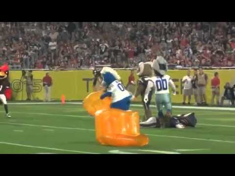 Blue Crushes Patriot Musical Chairs at Pro Bowl