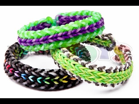 How to Make a DUO REVERSIBLE - Advanced Rainbow Loom Bracelet