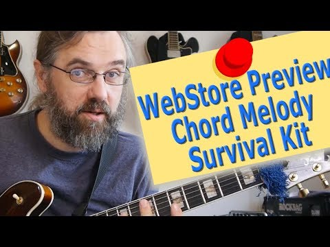 WebStore Preview - Chord Melody Survival Kit