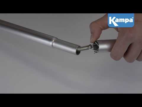How To Change/Replace Steel Tent & Awning Pole Springs