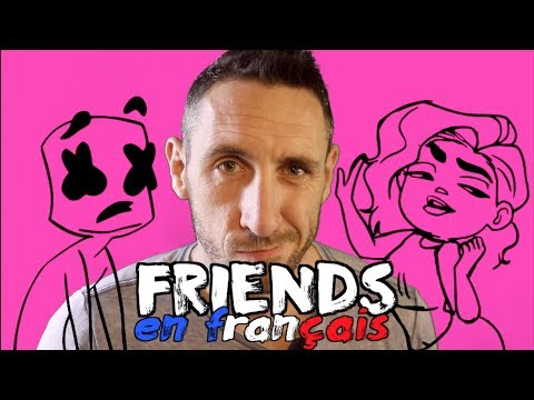 Marshmello & Anne-Marie - FRIENDS (traduction en francais) COVER