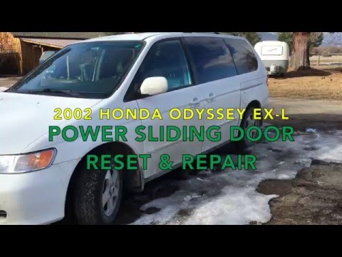 2005 2010 Honda Odyssey Sliding Doors Most Common Fix
