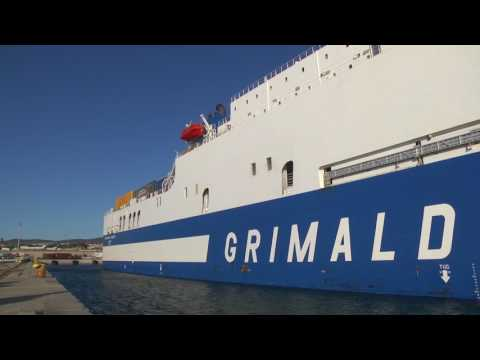 Grimaldi Lines _ Short Sea Services