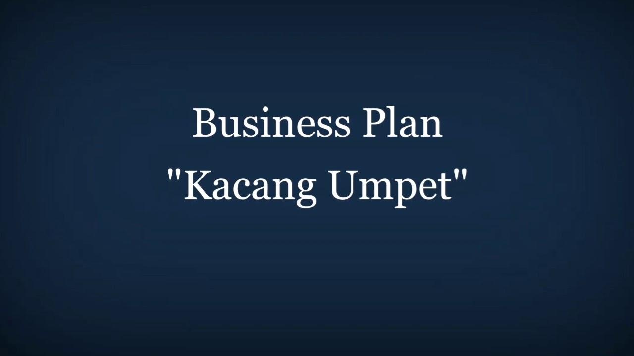 Bisnis Kacang Umpet (Business Plan-MK Kewirausahaan) - YouTube