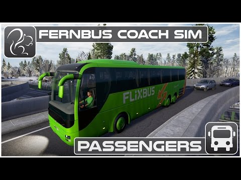 Fernbus Gameplay - Taking Passengers