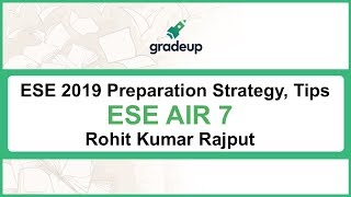 Revision Strategy, Tips & Tricks for ESE Prelims & Main by ESE AIR 07