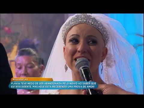 Flavia Realiza O Sonho De Se Casar Com Vitor