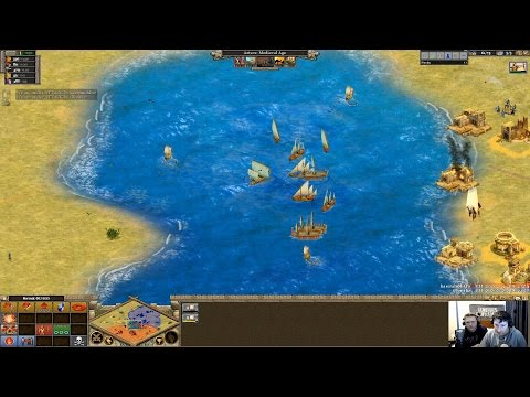 [Rise of Nations] Kaerunohito(Spanish) vs iRonikz(Aztec)