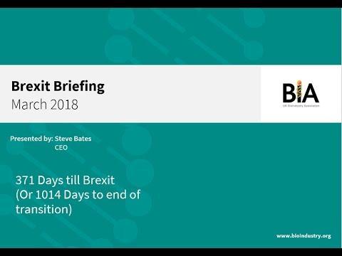 BIA Brexit Briefing Webinar- March