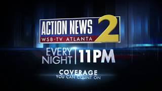 WSB-TV 2 Atlanta - Action News at 11PM
