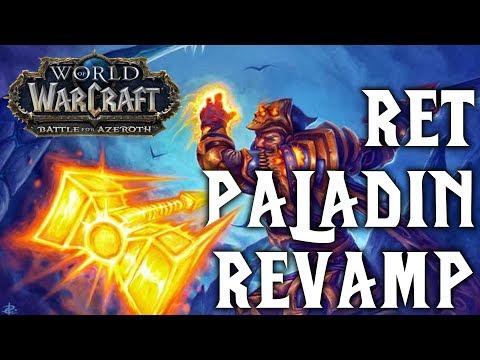 BFA Retribution paladin overhaul!? | Battle for Azeroth Alpha