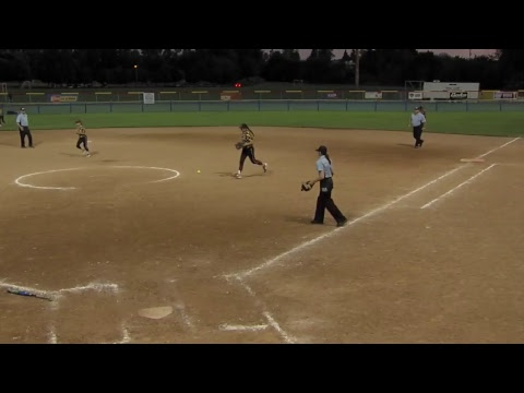 OBS Monarchs vs. RR Gold - 2017 18A Fastpitch National