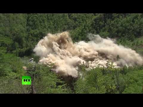 Watch North Korea destroy Punggye-ri nuclear testing site