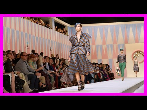 Breaking News | Milan fashion week: kaia gerber and bella hadid walk for fendi