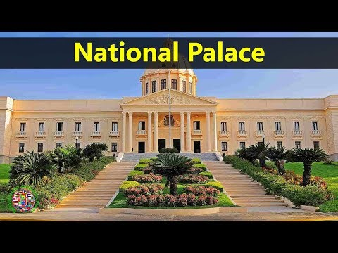 Best Tourist Attractions Places To Travel In Dominican Republic | National Palace Destination Spot