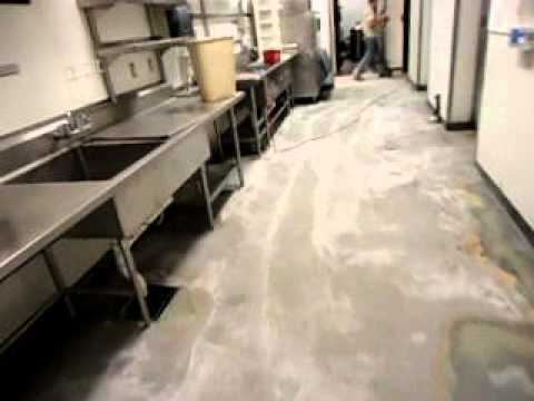Kitchen Epoxy Flooring-Prep