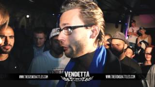 Vendetta 2012 Kvartsfinal: Kalle Balik vs Mr Cool