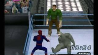 Repeat youtube video Spider-Man vs. Rhino & Sandman CAWS