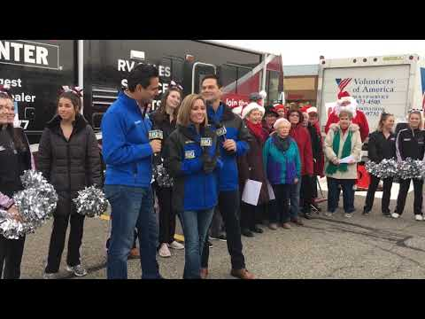 Share Your Holidays- Cleveland 19 Live Broadcast in Rocky River, Ohio at Marc's