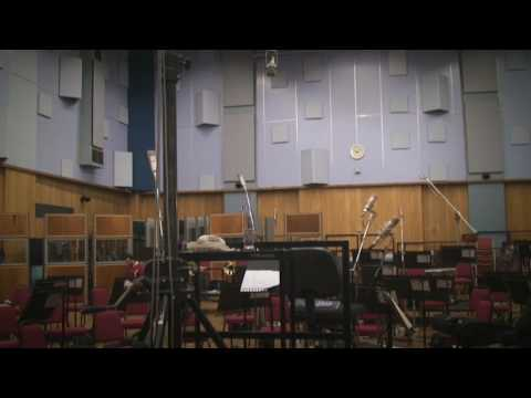 Yondani Butt conducts the LSO at Abbey Rd.