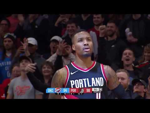 Oklahoma City Thunder vs. Portland Trail Blazers
