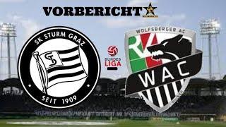 Kämpfen Sturm Graz, kämpfen! SK Sturm Graz - WAC Vorbericht Meistergruppe 26.Spieltag