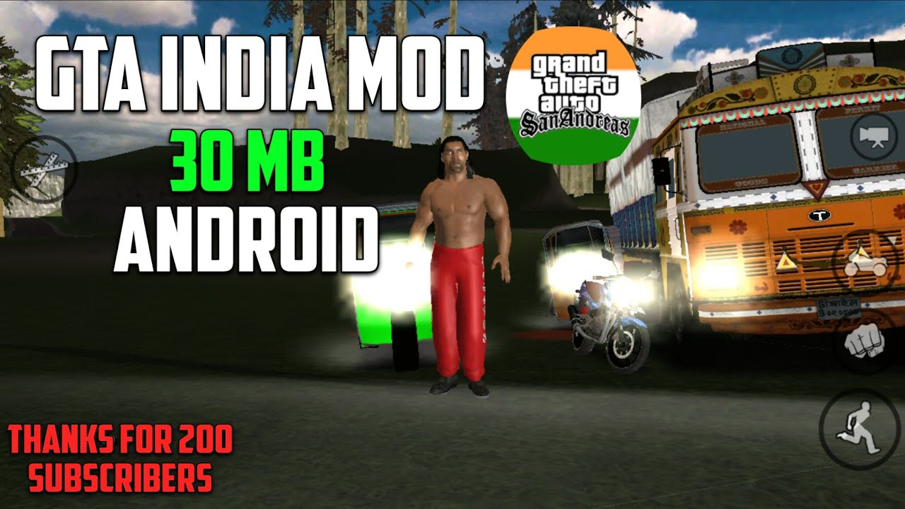 [30 MB] DOWNLOAD GTA INDIA MOD IN 30MB HIGHLY COMPRESSED FOR ANDROID | ALL  GPU