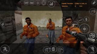 COUNTER STRIKE CONDITION ZERO ON ANDROID (GAMEPLAY)