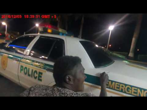 MDPD Body Cam. Video 1 - PD161203455361