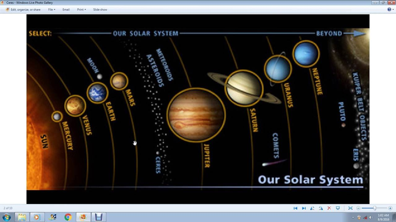 the inner and outer planets in our solar system universe - 1280×720