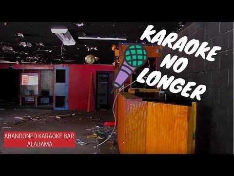 Urban Exploration: Abandoned Karaoke Bar Alabama