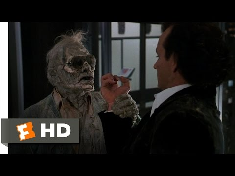 Scrooged (4/10) Movie CLIP - A Visit from Lew (1988) HD Mp3
