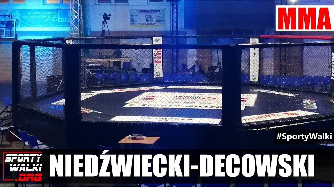 EFC 6: Dawid Niedźwiecki (MMA Team Ełk) vs Sebastian Decowski (Spartakus Rzeszów)