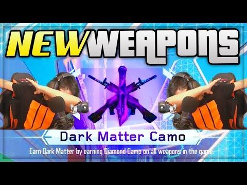 BLACK OPS 3 DARK MATTER UNLOCKED LIVE REACTIONS! - RARE DLC WEAPONS BO3