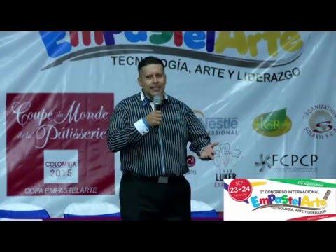 Distribuidora La Costa Congreso internacional de pastelería Empastelarte 2015 Luis Carlos Almeida