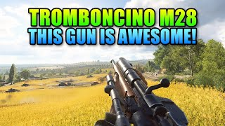This Gun Is Awesome! - M28 Con Tromboncino Review | Battlefield V thumbnail
