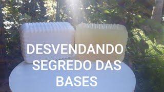 DESVENDANDO O SEGREDO DA BASE PERFEITA PARA FAZER TODO TIPO DE SABÃO