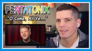Pentatonix Reaction | [OFFICIAL VIDEO] O Come, All Ye Faithful