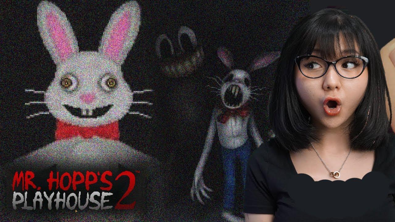SIAPA YANG BERANI LAWAN BONEKA HORROR? - Mr Hopps Playhouse 2