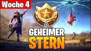 Fortnite: GEHEIMER STERN - Week 4 Battle Pass Star (Scrap Tower Loading Screen Season 10)
