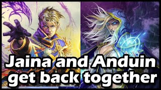 [Hearthstone] Jaina and Anduin get back together