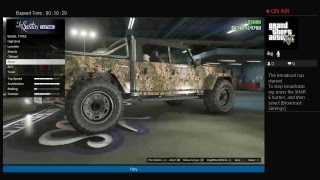 Lets play GTA 5 online!!!!!New off rode hummer!!! Out now