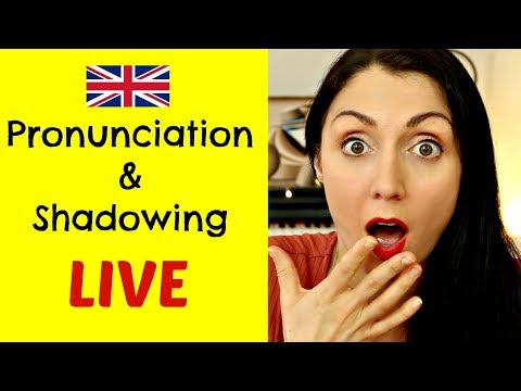 Pronunciation & Shadowing | LIVE English Lesson | Let Me Help You Improve Your English Speaking