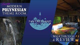 Luxury Modern Polynesian Theme Room at The Fantasyland Hotel WEM - Best Edmonton Mall