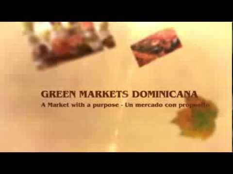 GREEN MARKETS DOMINICANA - PIANTINI SANTO DOMINGO