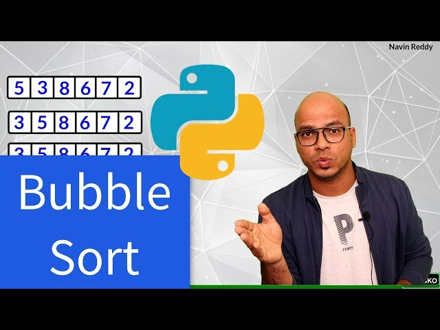 #70 Python Tutorial for Beginners | Bubble Sort in python | List Sort
