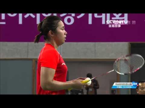 [HD] 2014 Asian Games - WT - SF - WD1 - TAKAHASHI A. / MATSUTOMO M. vs ZHAO Y.L. / TIAN Q.